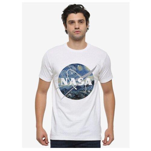 Футболка DREAM SHIRTS Звездная Ночь NASA размер 2XL, белый