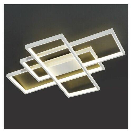 Потолочный светодиодный светильник Eurosvet 90177/3 белый