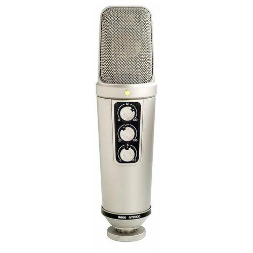 Студийный конденсаторный микрофон RODE NT2000