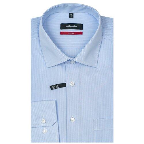 Рубашка Seidensticker размер 42 голубой