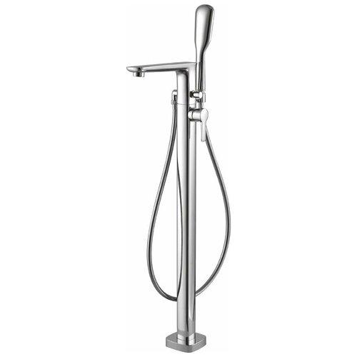 Напольный смеситель для ванны с ручным душем Cezares TESORO-F-VDP-01 смеситель для ванны cezares tesoro tesoro f bvd5 01