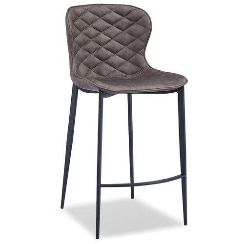 Фото - Стул полубарный Peggy (65), матовый коричневый/черный стул полубарный peggy 60 матовый коричневый черный
