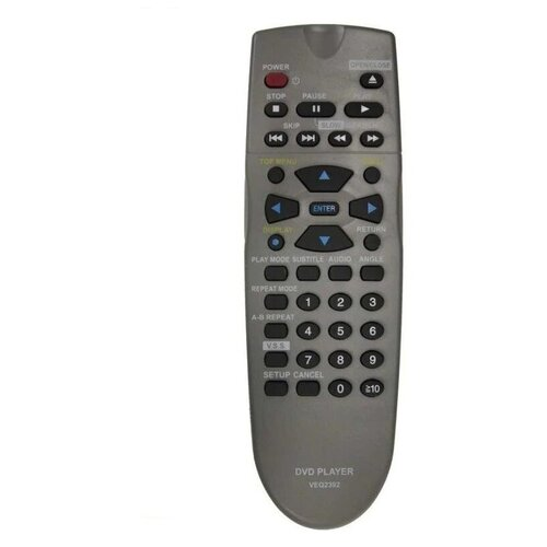 Фото - Пульт ДУ Panasonic VEQ 2392, VEQ2380 DVD пульт ду panasonic eur 7722x20 universal dvd vhs system