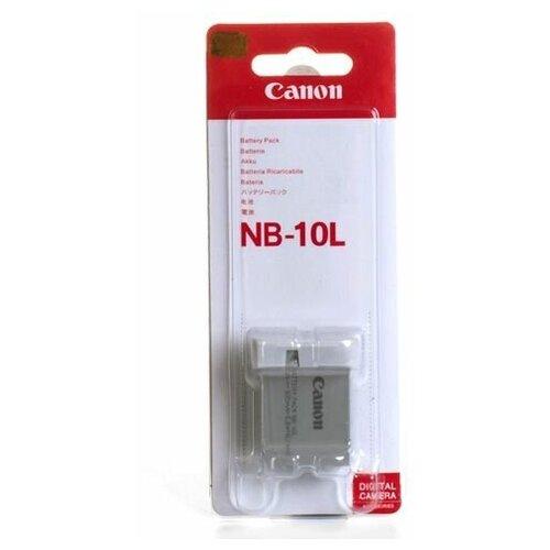Аккумулятор Canon NB-10L для Canon PowerShot SX40, G15, G1X, SX50, G16, SX60