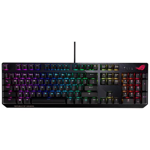 Игровая клавиатура ASUS ROG Strix Scope Cherry MX RGB черный