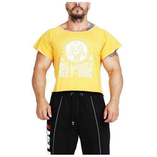Футболка мужская GET BIG 3389 желтая размер XL шапка big doggy желтая