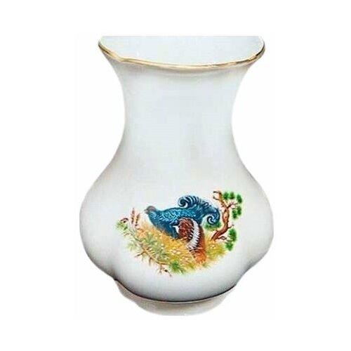 ваза с крышкой мэри стекло 19 см Ваза для цветов 19 см Leander Мэри-Энн /Охота / 157873