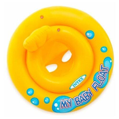 Надувной круг - ходунки Мой Маленький Плот, диаметр 67 см, от 1 до 2 лет