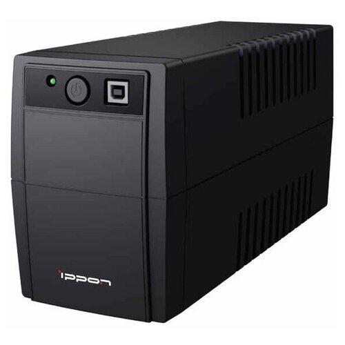 ИБП Ippon Back Basic 650S Euro ибп ippon back basic 1050 euro 600w 1050va