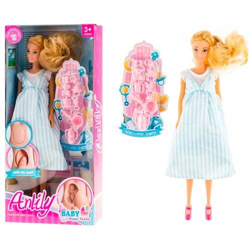 Кукла беременная с аксессуарами / Кукла - мама / Кукла с ребенком / Кукла с животом