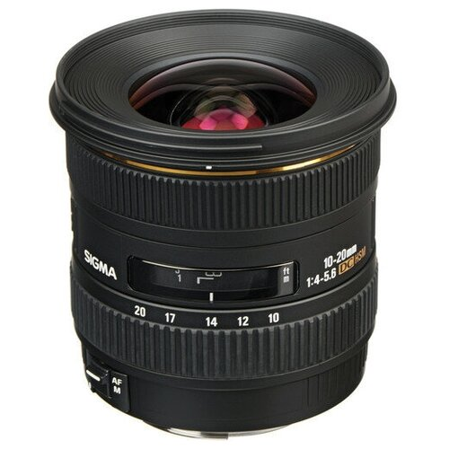 Объектив Sigma AF 10-20mm f/4-5.6 EX DC HSM Canon EF-S объектив sigma af 30mm f 1 4 dc hsm art canon ef s