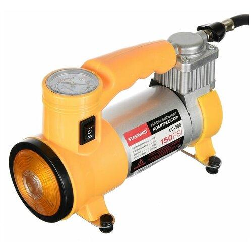 Автомобильный компрессор Starwind CC-200 35лмин шланг 0.75м