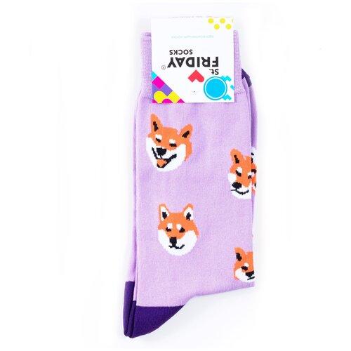 Носки с собачками Сиба-Ину St.Friday Socks - Это фиаско братан 42-46