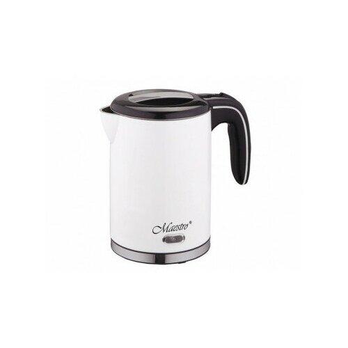 Электрический чайник Maestro 1,2 л MR-030-WHITE чайник электрический maestro mr 034 1 7л диск синий