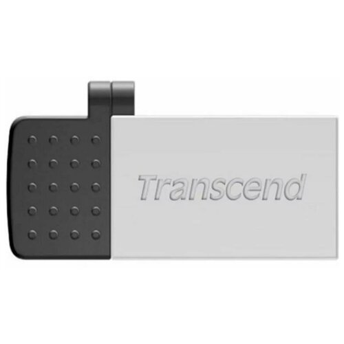 Флеш-накопитель USB 32GB Transcend JetFlash 380S (USB+microUSB) for Android smartphones