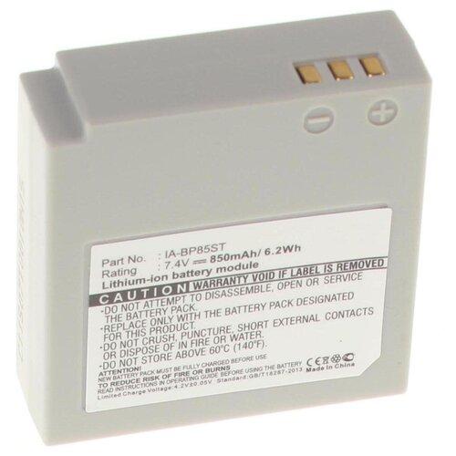 Аккумуляторная батарея iBatt 850mAh для Samsung SMX-F30SP, SC-MX20R