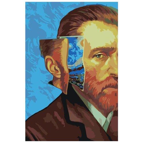 Картина по номерам «Ван Гог», 40x60 см, Живопись по Номерам, Z-NA134, Живопись по номерам, Картины по номерам и контурам  - купить со скидкой