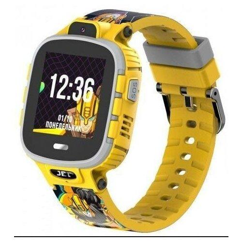 Детские умные часы JET KID Transformers (Bumblebee) Желтый