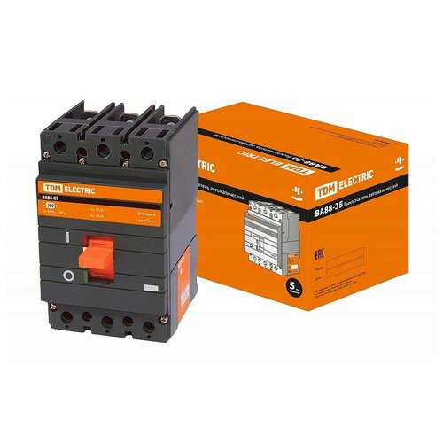 Автоматический выключатель ВА88-35 3Р 250А 35кА TDM, цена за 1 шт