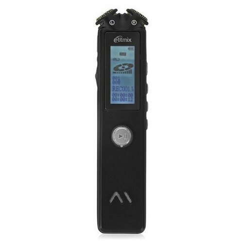 ritmix rr 145 4gb blue Диктофон цифровой Ritmix RR-145 4GB black