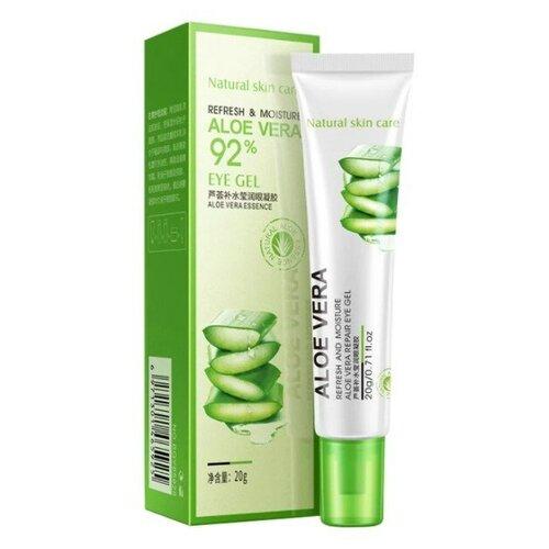 BioAqua Увлажняющий гель для век Aloe Vera 92% Eye Gel, 20 г недорого