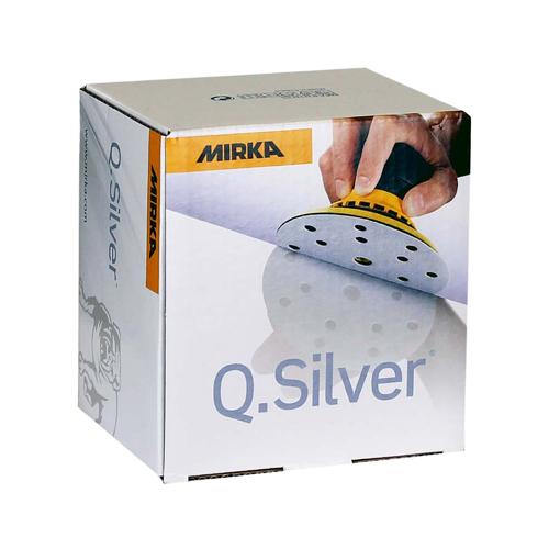 Абразивные круги MIRKA Q Silver 15 отверстий P220 150мм (упаковка 100шт.)