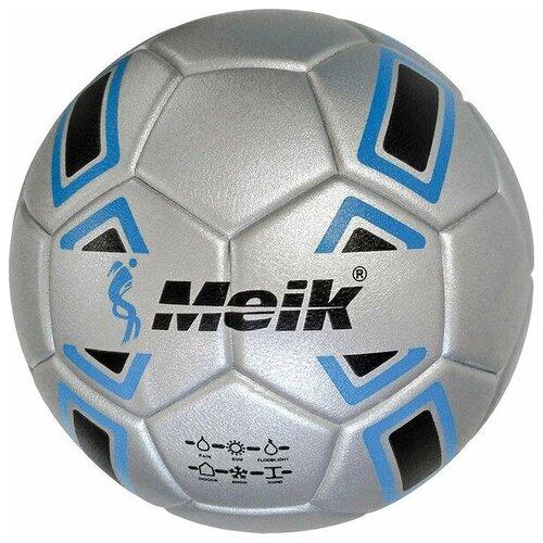 Мяч футбольный Meik-088Y 4-слоя, TPU+PVC 3.0, 410-420 гр., термосшивка