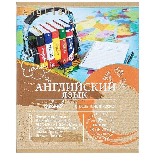Тетрадь Проф-Пресс Эко-серия Английский язык А5 36 листов 36-6315