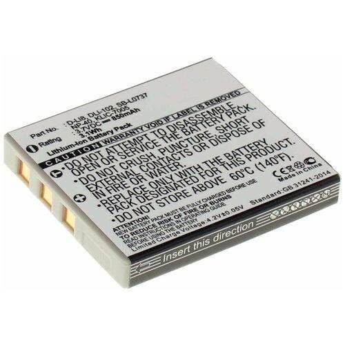 Фото - Аккумулятор iBatt iB-B1-F391 850mAh для BenQ, FujiFilm, Kodak, Panasonic, Pentax, Praktica, Samsung, Sanyo NP-40, D-Li8, SLB-0737, D-Li85, аккумуляторная батарея ibatt 850mah для pentax praktica samsung klic 7005 np 40n