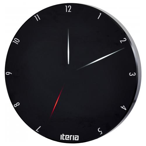 Часы светодиодные Iteria Led Clock Black