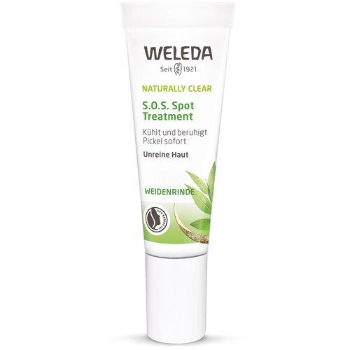 weleda naturally clear purifying gel cleanser Weleda средство против локальных несовершенств кожи Naturally Clear S.O.S., 10 мл