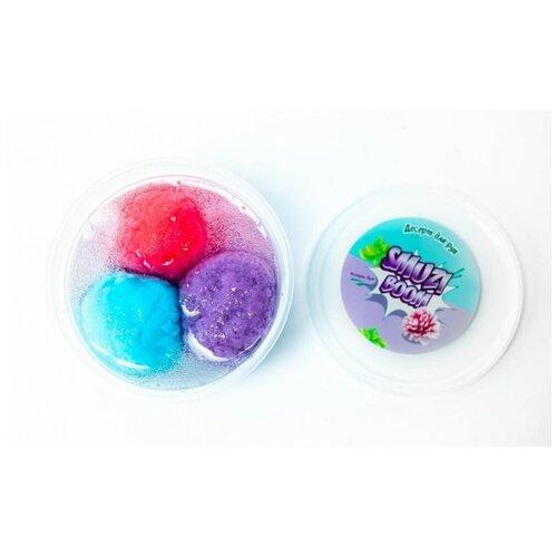 Слайм-десерт для рук Smuzi boom Флоат с ароматом клубники, 200 г