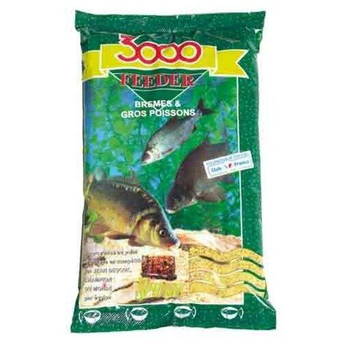 Прикормка Sensas 3000 FEEDER Bremes & Big Fish 1кг