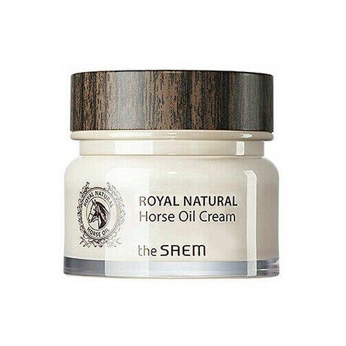 The SAEM ROYAL Horse Oil Крем для лица с лошадиным жиром Royal Natural Horse Oil Cream (80 мл)