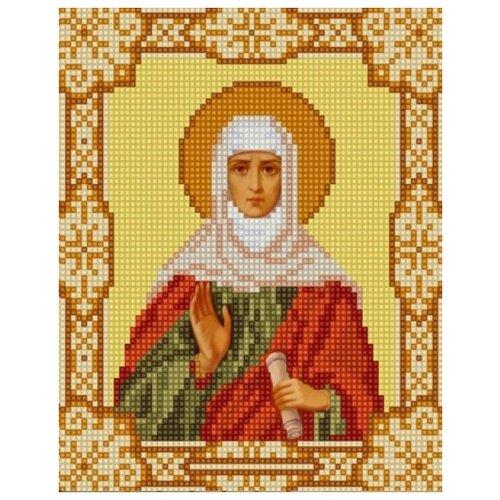 Святая Анна (рис. на сатене 15х18) 15х18 Конек 9169 15х18 Конек 9169)