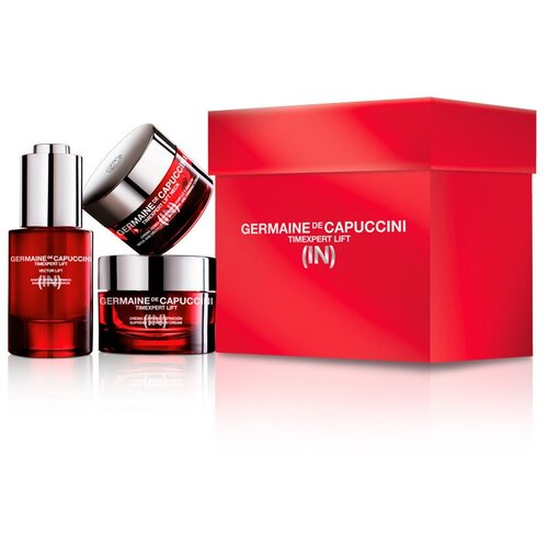 Germaine de Capuccini Timexpert Lift (In) Набор для лица с лифтинг эффектом: Крем для лица + Крем для шеи + Сыворотка для лица 50+50+50 мл недорого