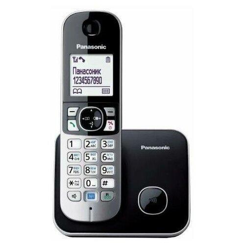 Радиотелефон Panasonic KX-TG6811 Черный