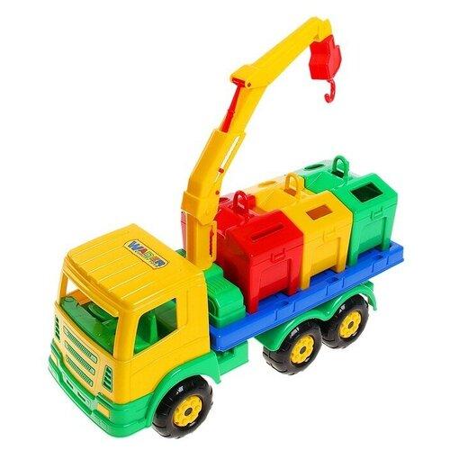 Купить Полесье Автомобиль-контейнеровоз «Престиж», Машинки и техника