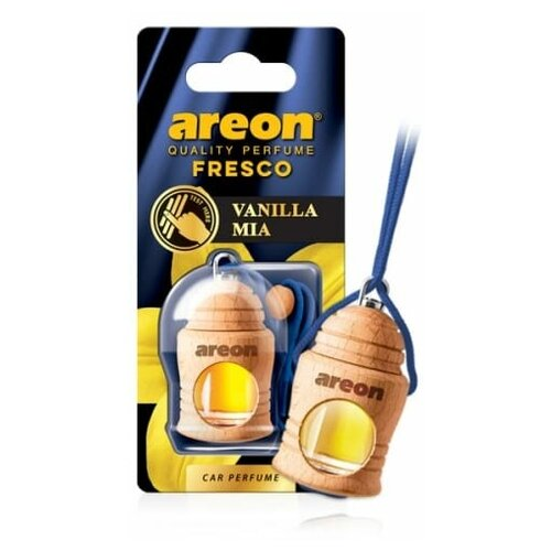 Ароматизатор AREON подвесной боченок деревянный на жидкой основе FRESCO VANILLA MIA arto di fresco vanilla