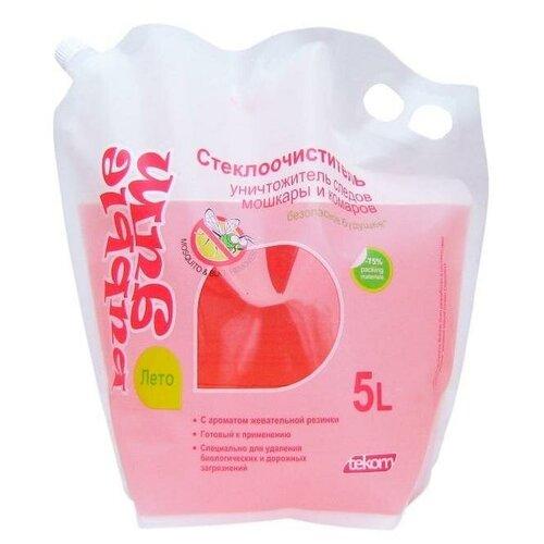 Жидкость стеклоомывающая Лето Bubble Gum, 5л, Дой-пак 2 шт. недорого
