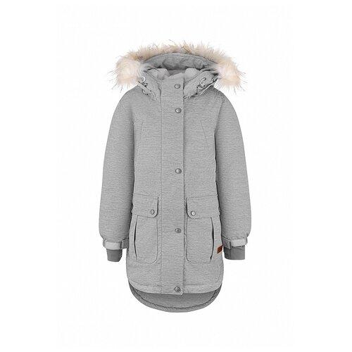 Купить Куртка Oldos размер 140, светло-серый, Куртки и пуховики
