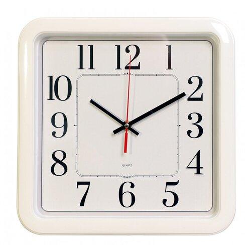 Настенные часы Бюрократ WallC-S79P белый (wallc-s79p29/white)