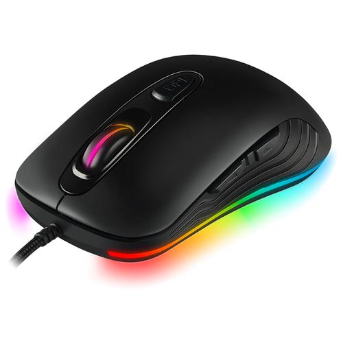 Мышь игровая SVEN RX-G820 (6+1кл. 200-4800 DPI, ПО, SoftTouch, RGB-подсветка, игров. упак)