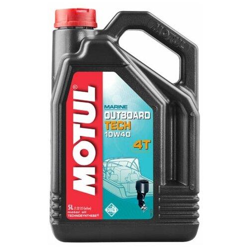 Масло моторное Motul Outboard Tech 4T 10w-40 ( 5 L)