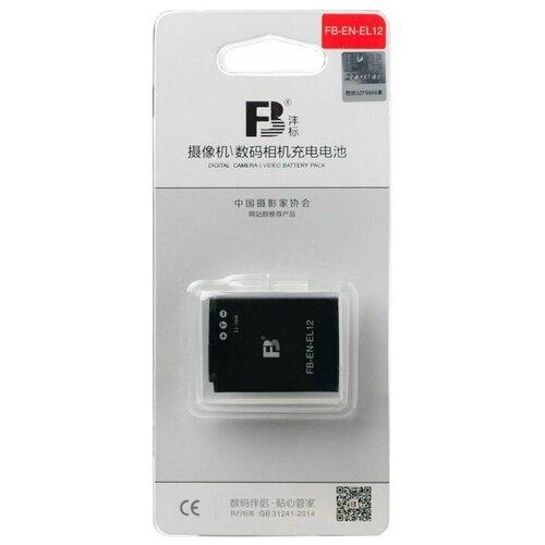 Фото - Аккумулятор FB EN-EL12 для Nikon Coolpix P340, AW120s, S9600, S9700s аккумулятор fb en el1 для nikon coolpix 4800 5000 5400 5700 8700