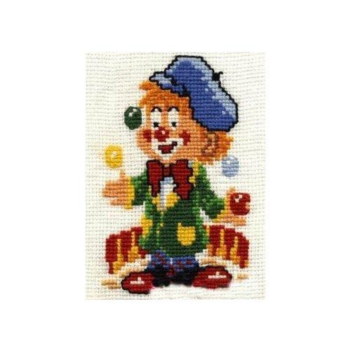 Набор для вышивания Сделай своими руками ССР.К-06 Клоун-набор 11х14 см