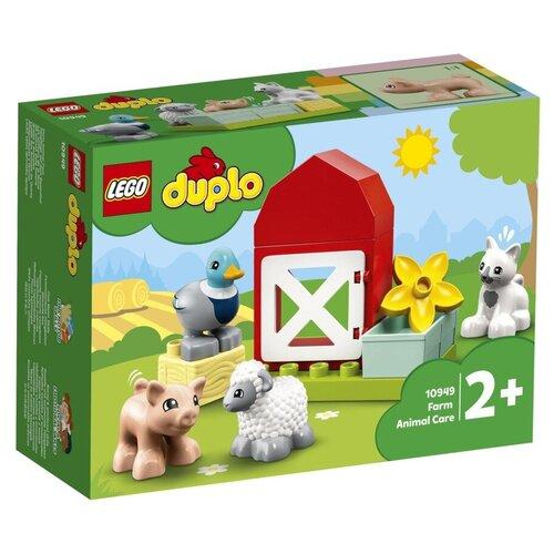 Конструктор Lego Duplo Уход за животными на ферме 11 дет. 10