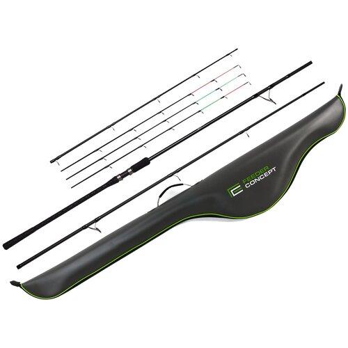 Удилище фидерное Feeder Concept Distance EXTRA HEAVY 210 3.90 с чехлом EVA 165см
