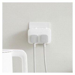 Настенный адаптер 2 розетки Xiaomi Power Strip 2 White (MJZHQ2-03QM) — купить по выгодной цене на Яндекс.Маркете
