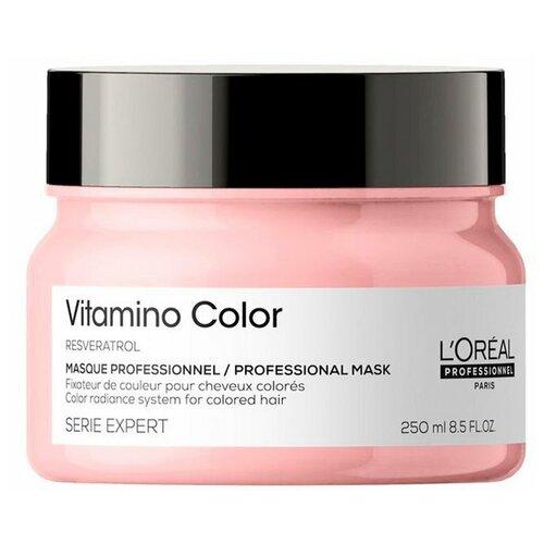 Маска для окрашенных волос L`oreal Professionnel Serie Expert Vitamino Color 250 мл l oreal professionnel liss unlimited маска разглаживающая для непослушных волос 250 мл